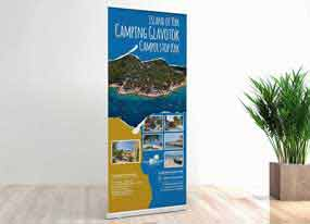roll up banner - Camping Glavotok